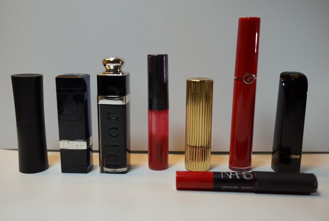 Collection de rouges