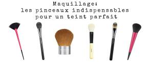 Maquillage: les pinceaux indispensables pour un teint parfait