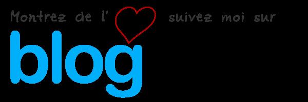 Show your loving, follow me on bloglovin'