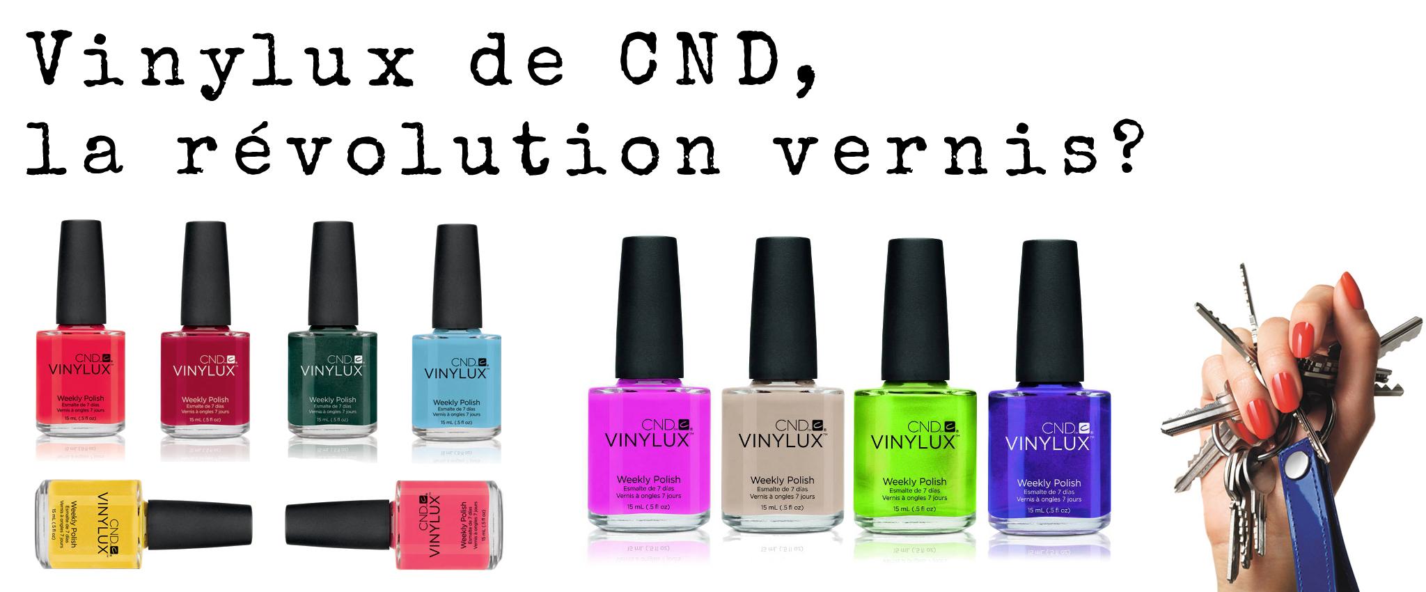 Vinylux de CND, la révolution vernis?