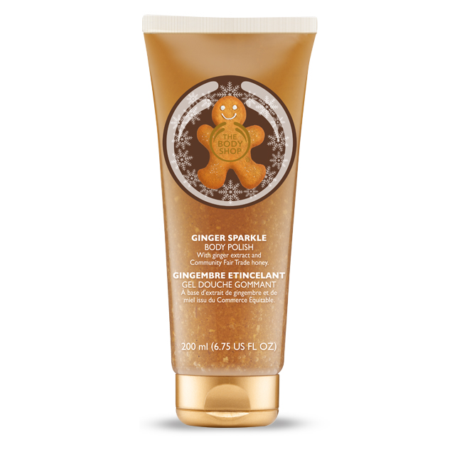 Gel Douche Gommant Gingembre etincelant Body Shop