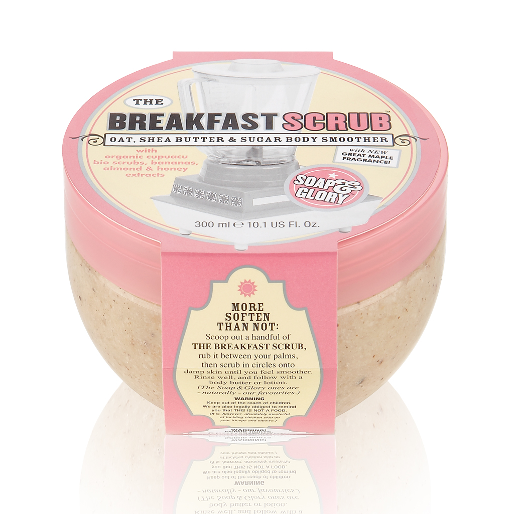 Smoothie Breakfast Scrub Soap and Glory