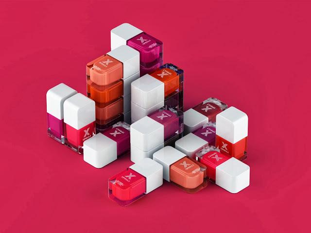 Formula X for Sephora red, pink, orange