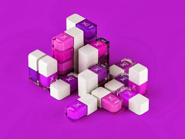 Formula X for Sephora pink, purple