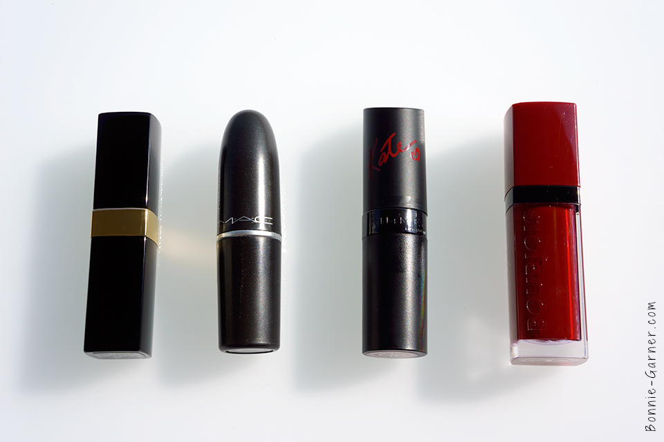 Dark lipsticks for Fall CHANEL MAC Rimmel Bourjois