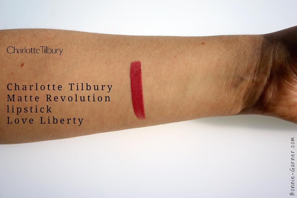Charlotte Tilbury Matte Revolution Lipstick Love Liberty swatch
