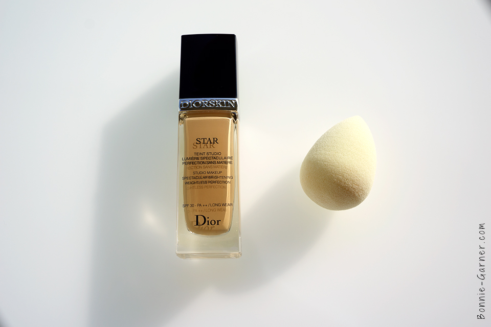 Diorskin Star Foundation Beauty Blender
