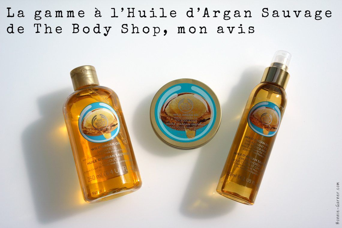 Huile d'Argan Sauvage The Body Shop