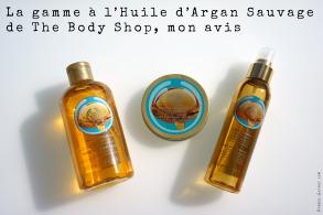Huile d'Argan Sauvage The Body Shop