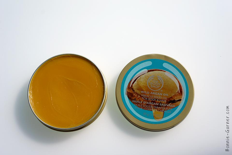 Huile Solide Miraculeuse à L'huile d'Argan Sauvage pour le corps et les cheveux