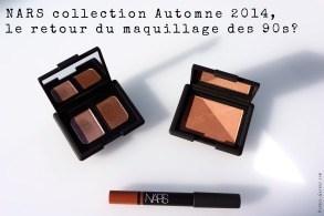 NARS collection Automne 2014, le retour du maquillage des 90s?