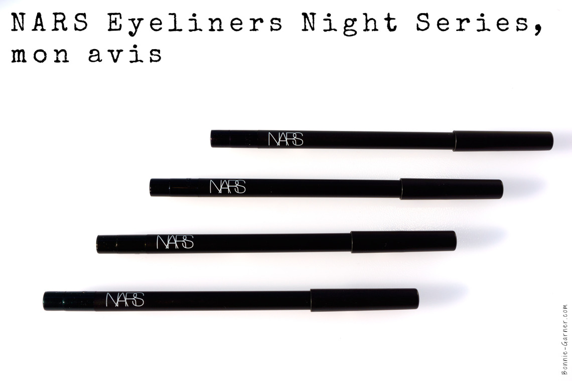 Eyeliners Night Series de Nars, mon avis