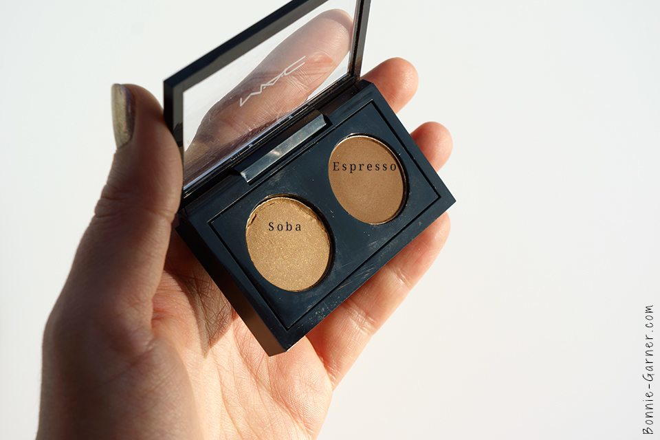 MAC eyeshadows Soba Espresso