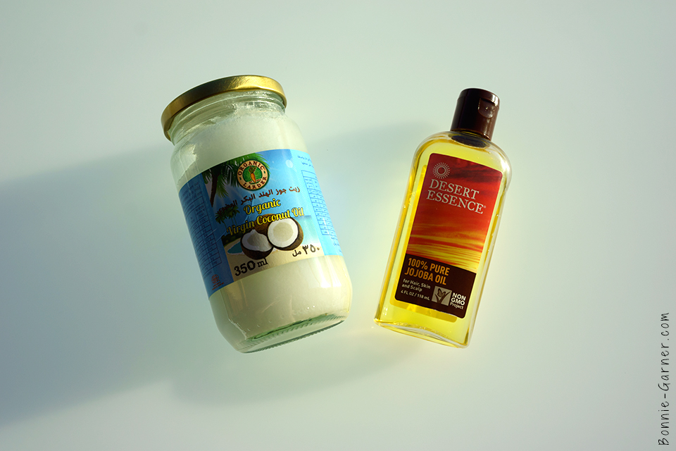 coco oil & jojoba oil