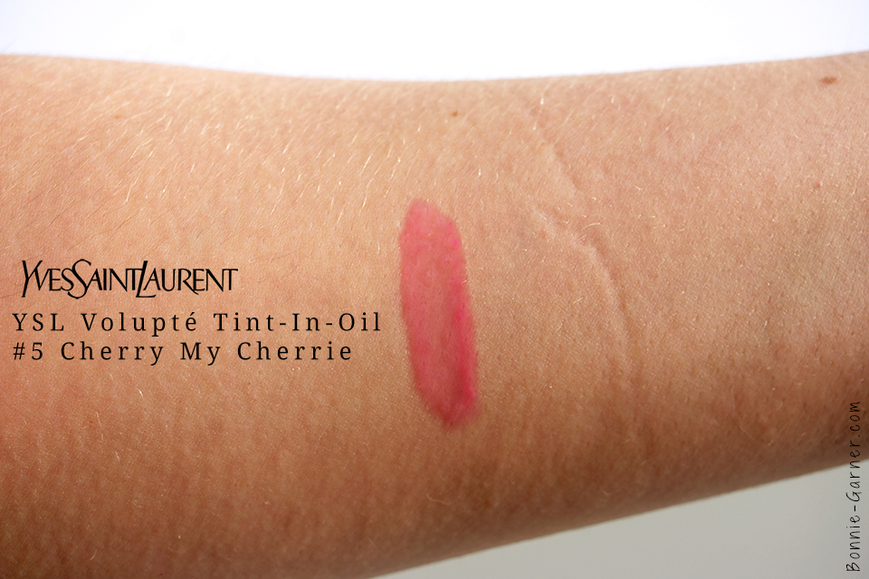 Volupté Tint-In-Oil #5 d'Yves Saint Laurent, swatch