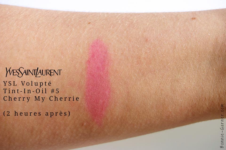 Volupté Tint-In-Oil #5 d'Yves Saint Laurent, swatch