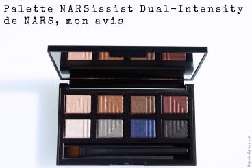La palette d'ombres à paupières NARSissist Dual-Intensity de NARS, mon avis