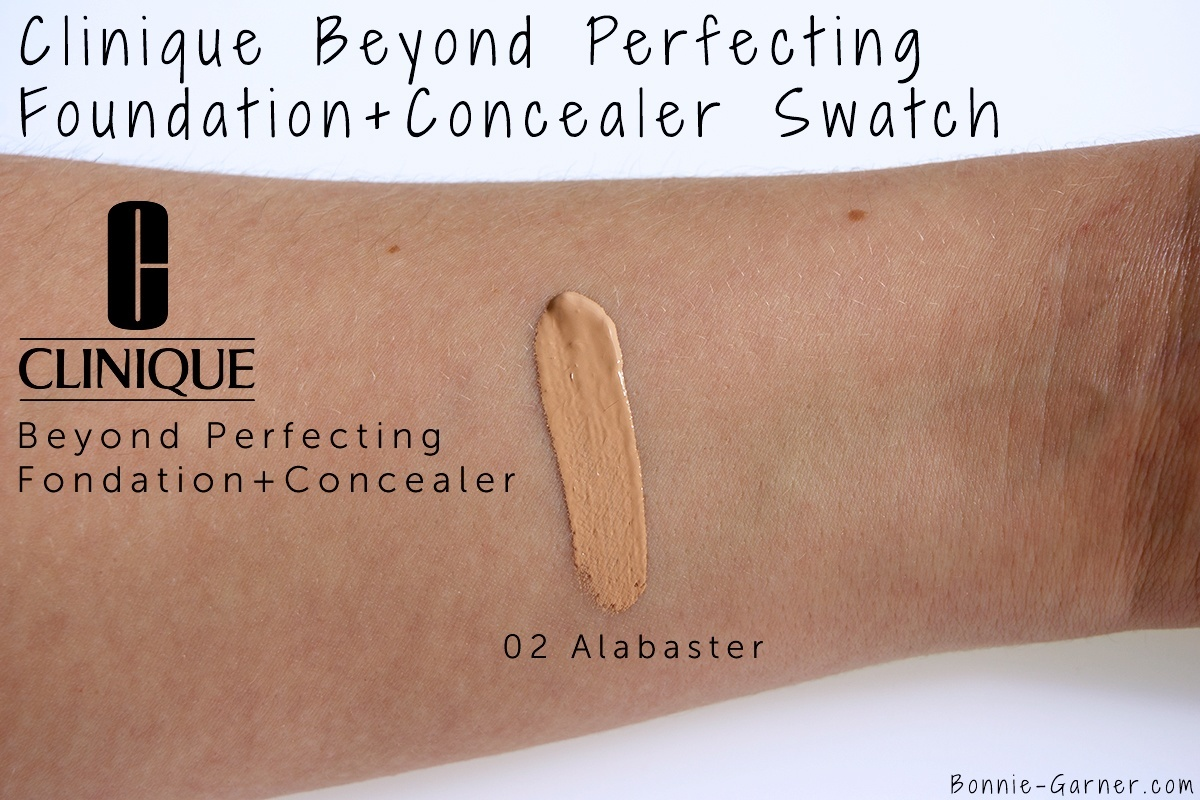 Clinique Beyond Perfecting Fond de teint et Correcteur, swatch