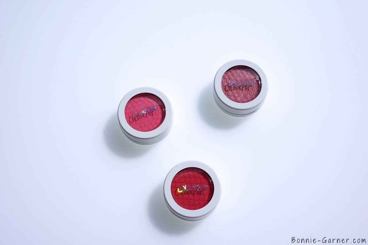 ColourPop Super Shock Cheeks blushes: Prenup, Mochi & Earlybird