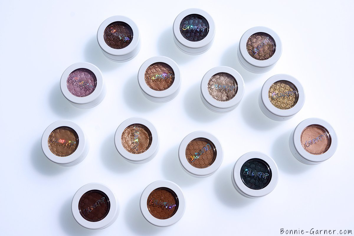 ColourPop Super Shock Eyeshadows