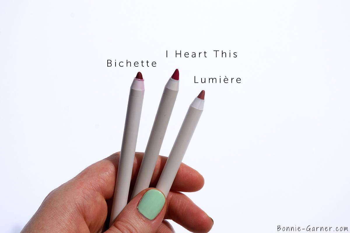 ColourPop Lippie Stix & Lippie Pencil Bichette, I Heart This, Lumiere
