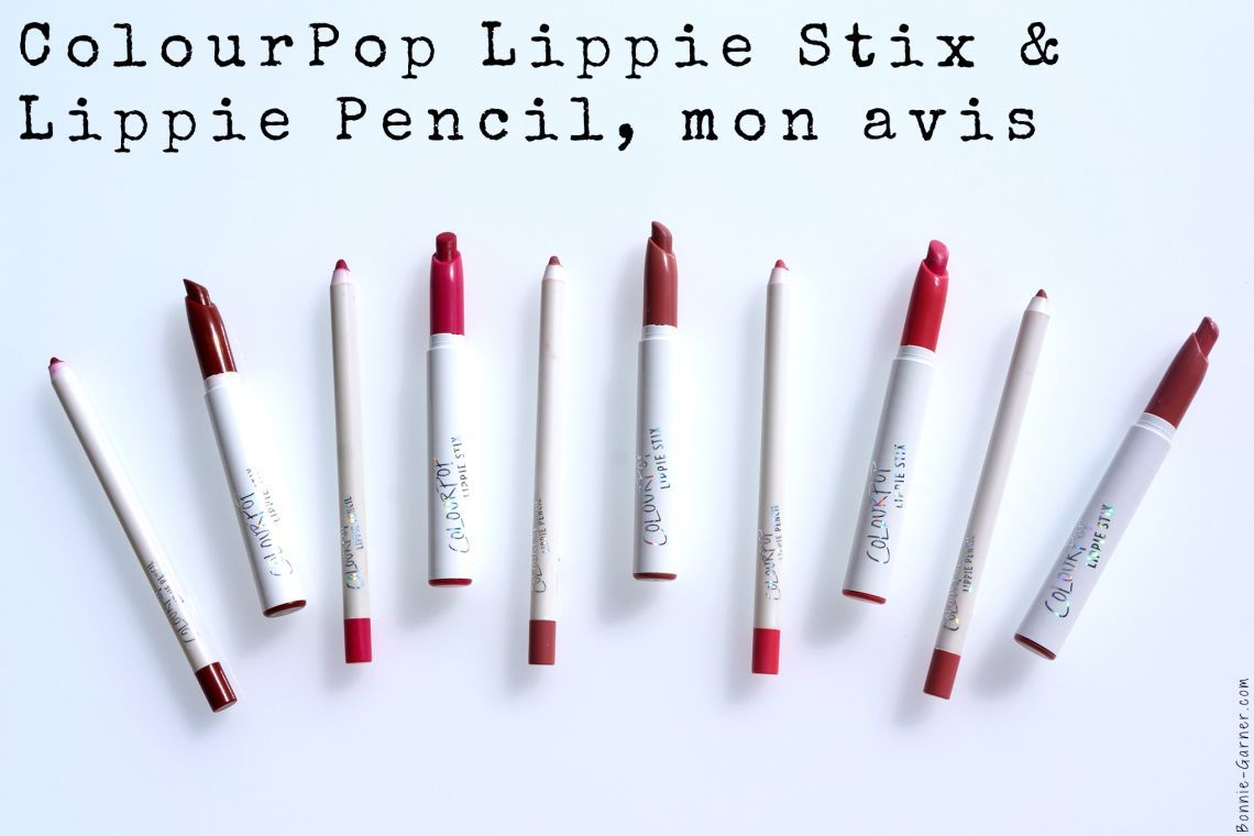 ColourPop Lippie Stix & Lippie Pencil, mon avis