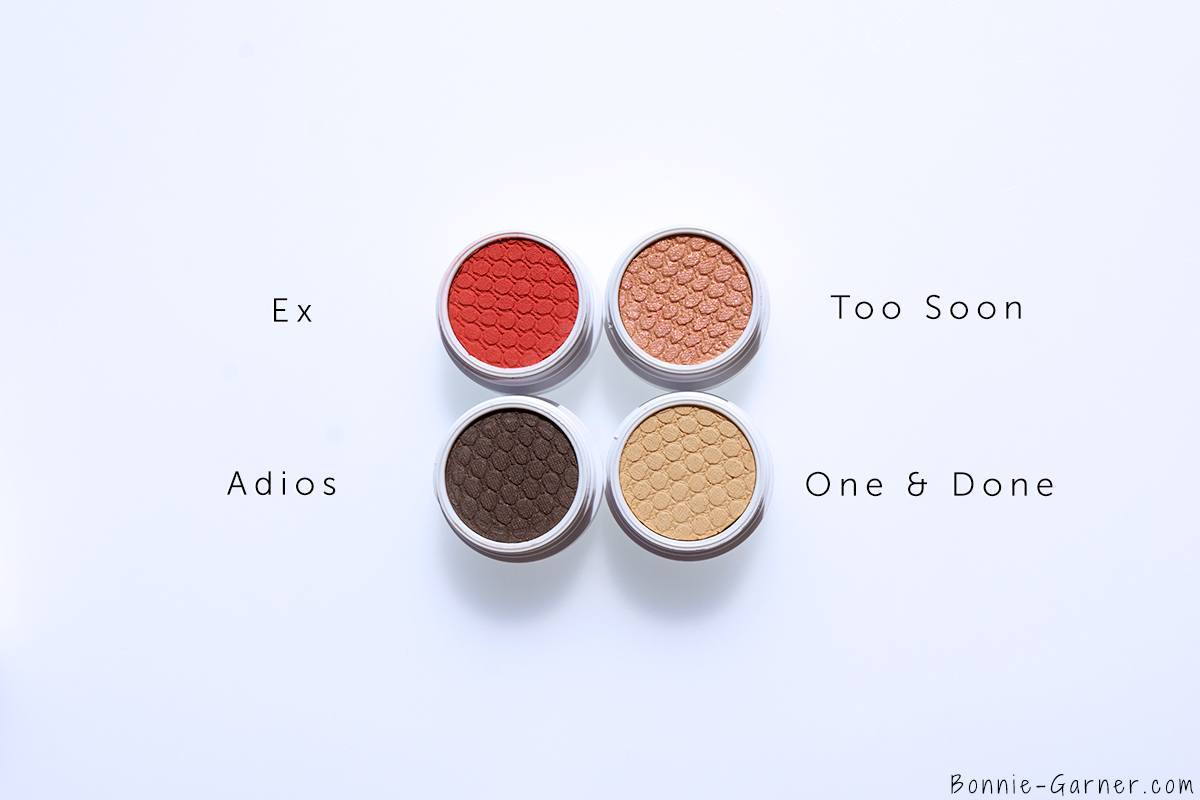 ColourPop Rebound Bundle Ex, Adios, One & Done, Too Soon