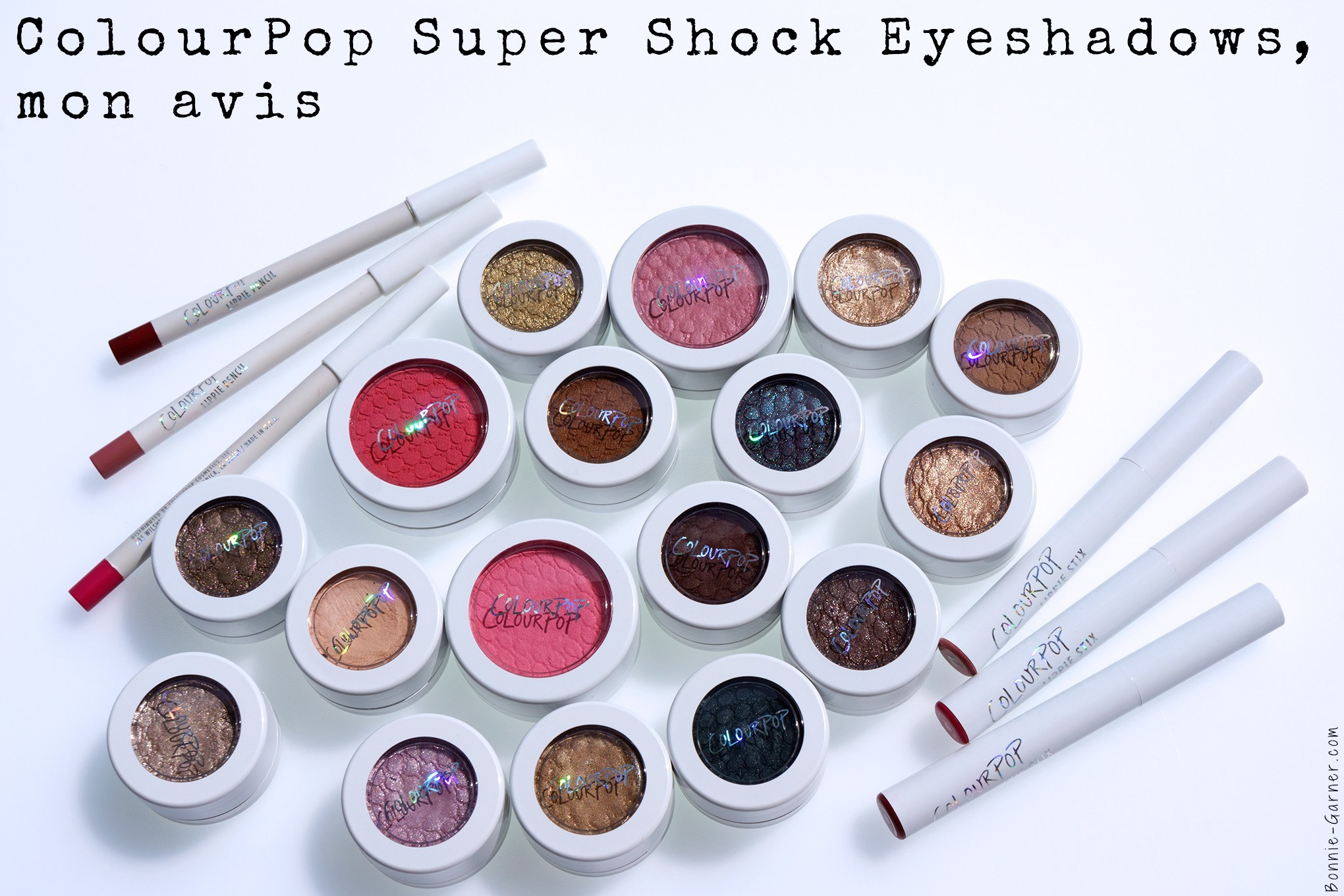 ColourPop Super Shock Eyeshadows, mon avis