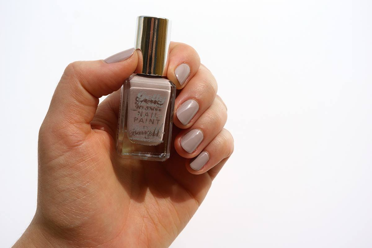 Barry M Gelly Hi Shine Nail Polishes Almond