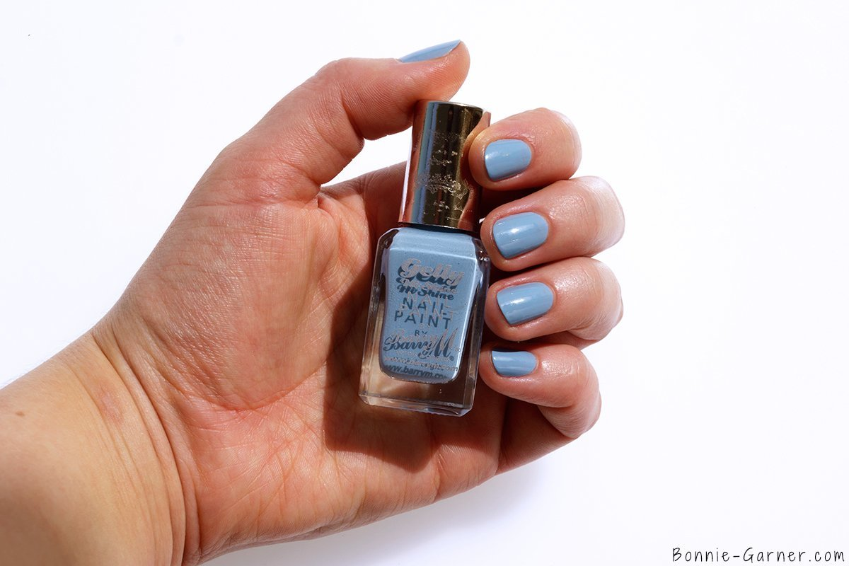 Barry M Gelly Hi Shine Nail Polishes Huckleberry
