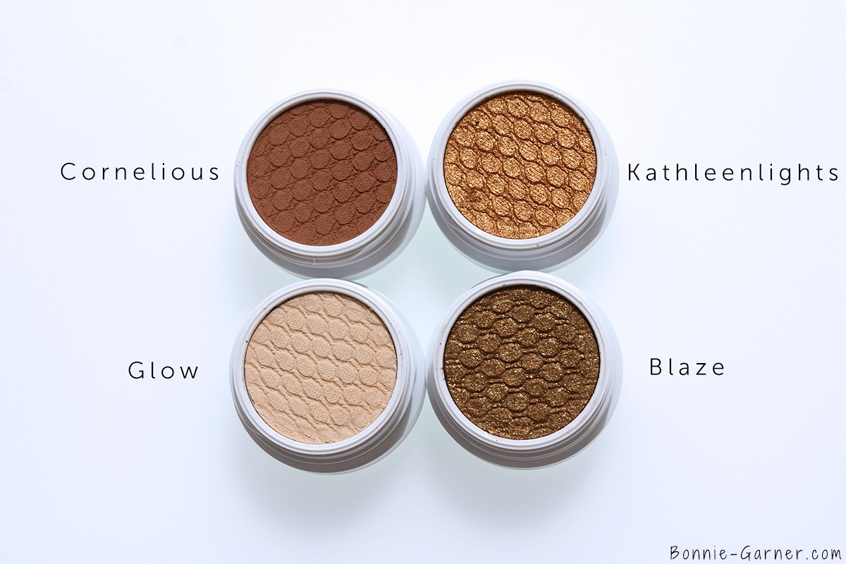 ColourPop Where The Light Is by Kathleen Lights: Glow, Cornelious, Blaze, KathleenLights