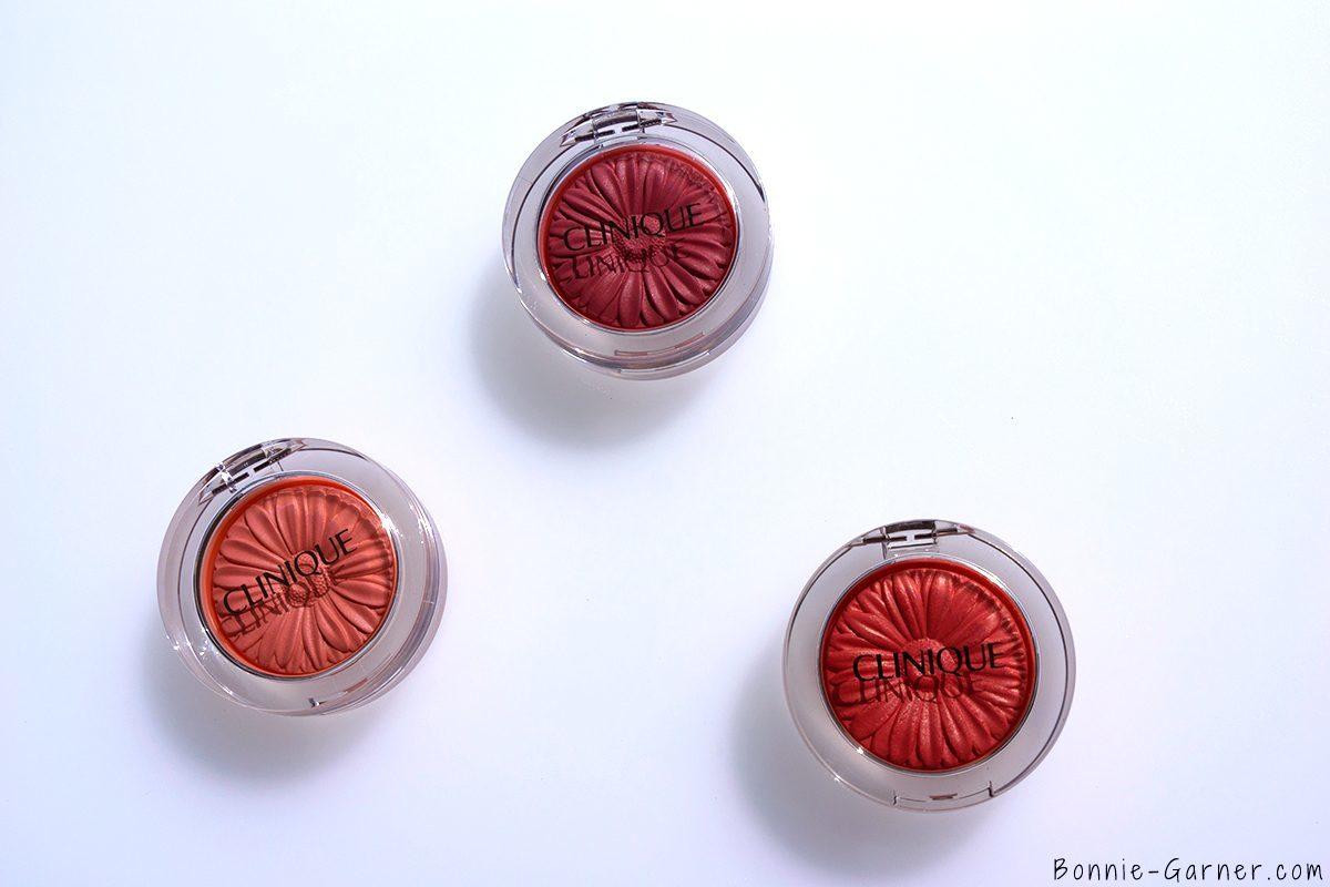 Clinique Cheek Pop Melon Pop, Peach Pop & Rosy Pop