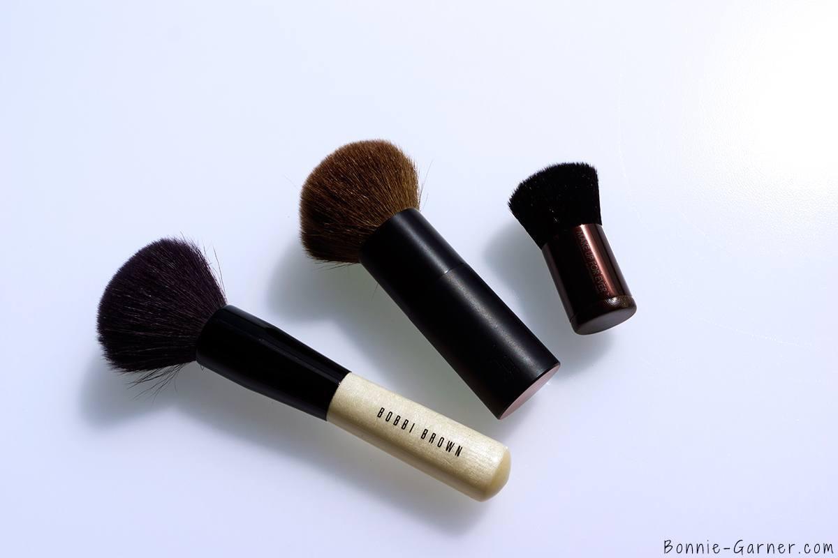 Bronzer brushes: Bobbi Brown, NARS, MUFE