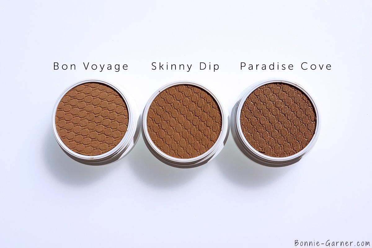 ColourPop Bronzers Bon Voyage, Skinny Dip, Paradise Cove