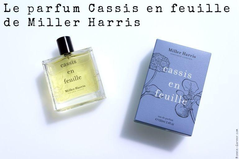 Le parfum Cassis en feuille de Miller Harris