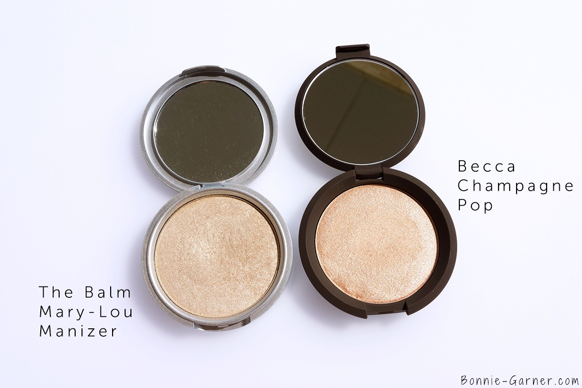Becca x Jaclyn Hill Shimmering Skin Perfector Pressed Champagne Pop The Balm Mary-Lou Manizer
