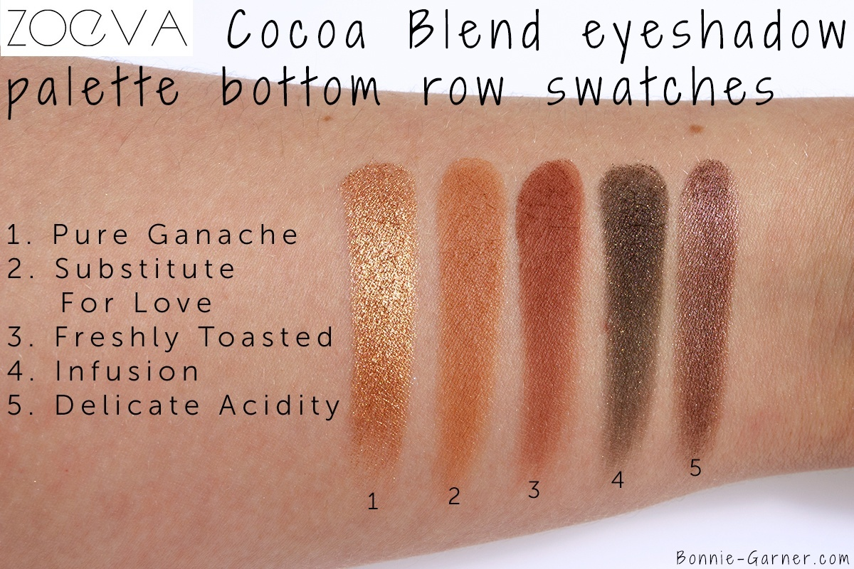 Cocoa Blend Eyeshadow Palette by zoeva #18
