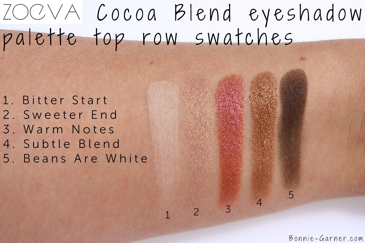 Cocoa Blend Eyeshadow Palette by zoeva #20