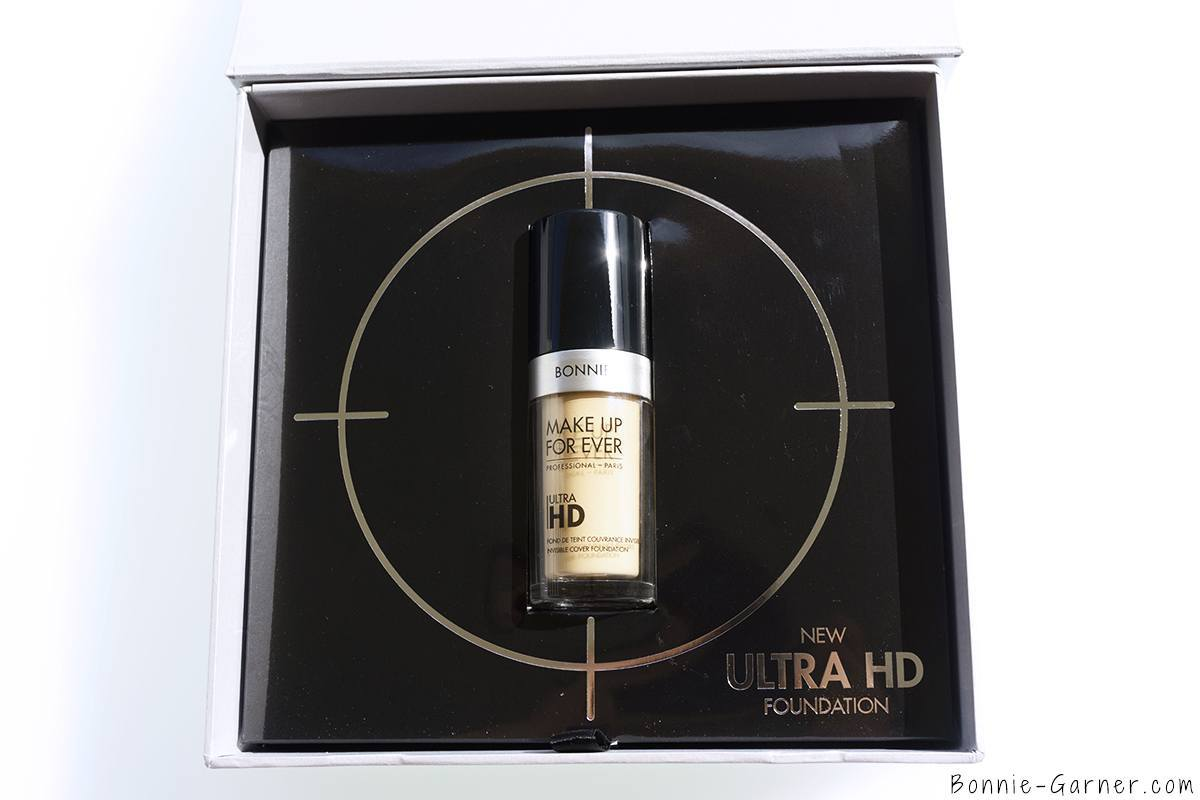 Make Up For Ever Ultra HD liquid foundation Y245, 4K box