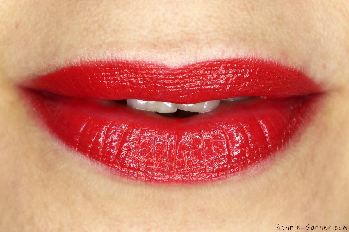 Laura Mercier Lip Parfait Creamy Colourbalm Sweet Guava lip swatch
