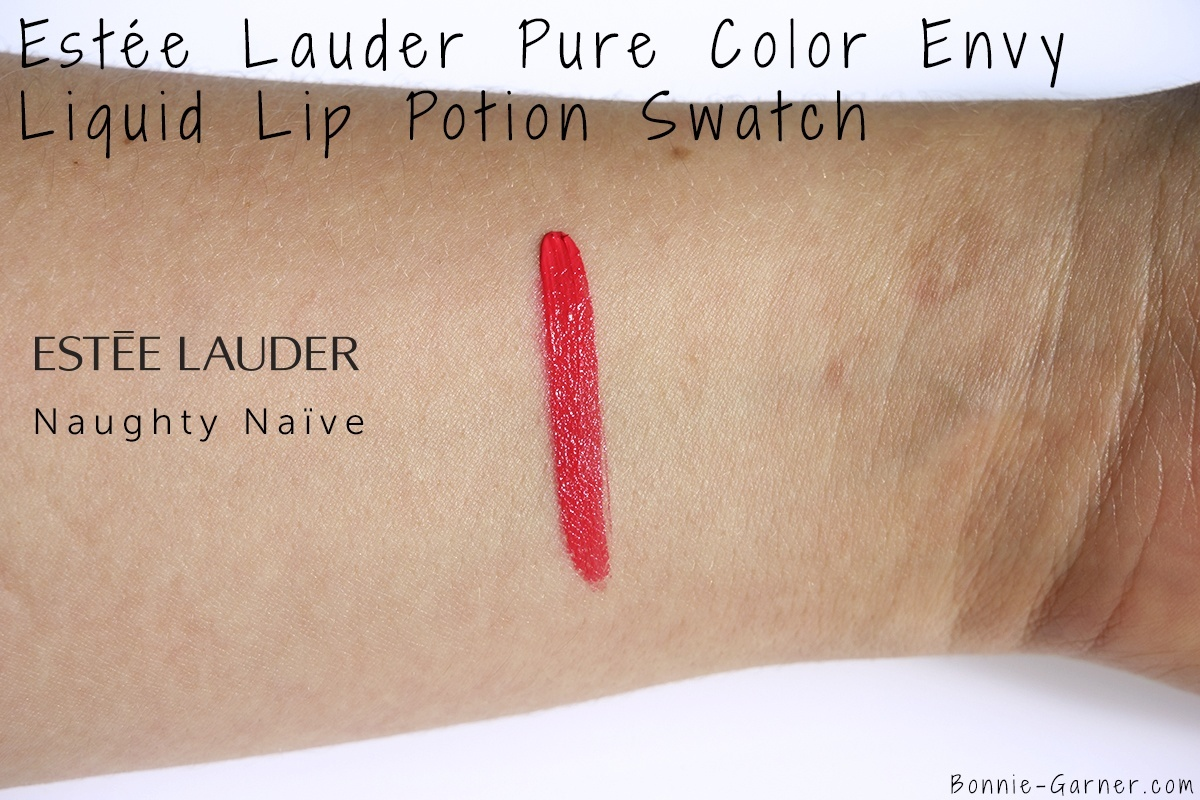 Estée Lauder Pure Color Envy Liquid Lip Potion Naughty Naïve swatch