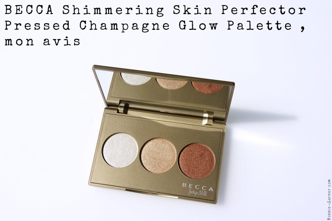 BECCA Shimmering Skin Perfector Pressed Champagne Glow palette, mon avis