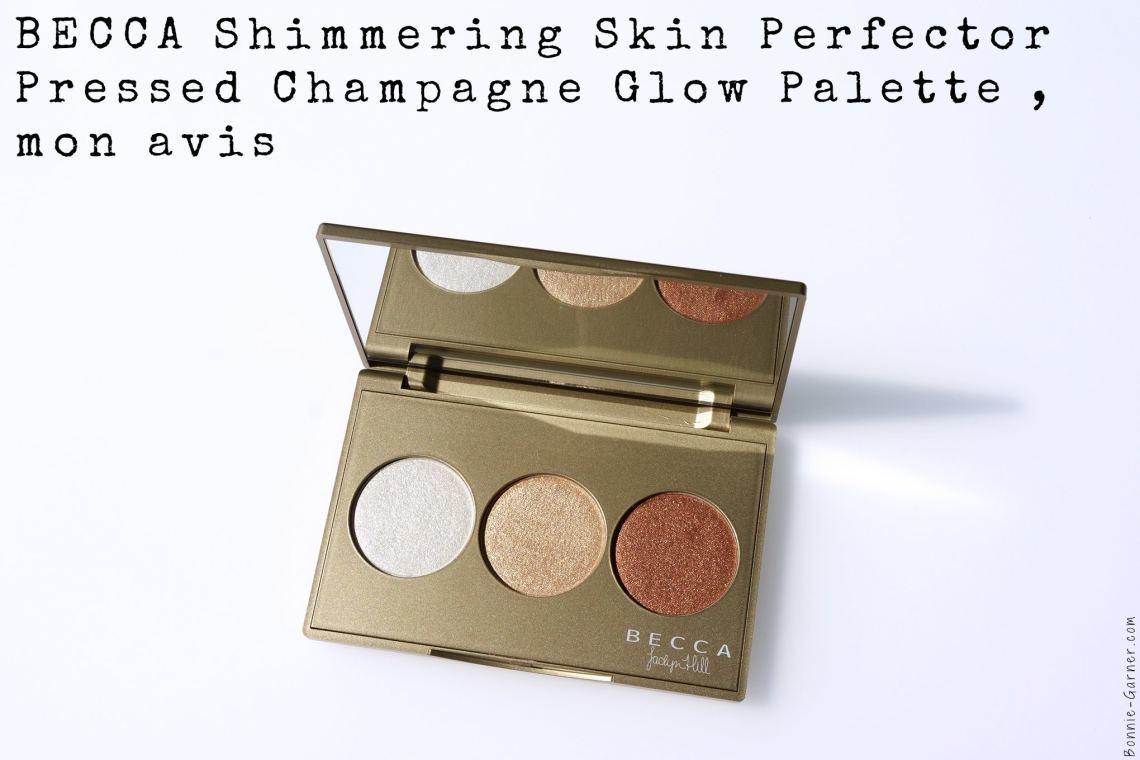 BECCA Shimmering Skin Perfector Pressed Champagne Glow Palette, mon avis