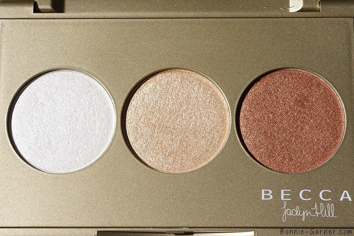 BECCA Shimmering Skin Perfector Pressed Champagne Glow palette zoom