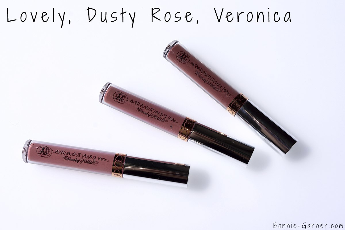 Anastasia Beverly Hills Liquid Lipstick Lovely, Dusty Rose, Veronica