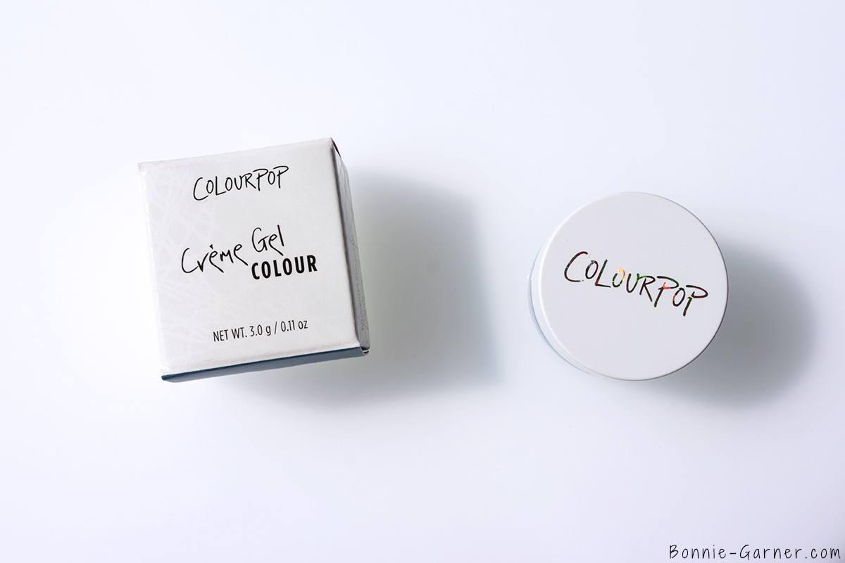 Colourpop Creme Gel Colour packagin