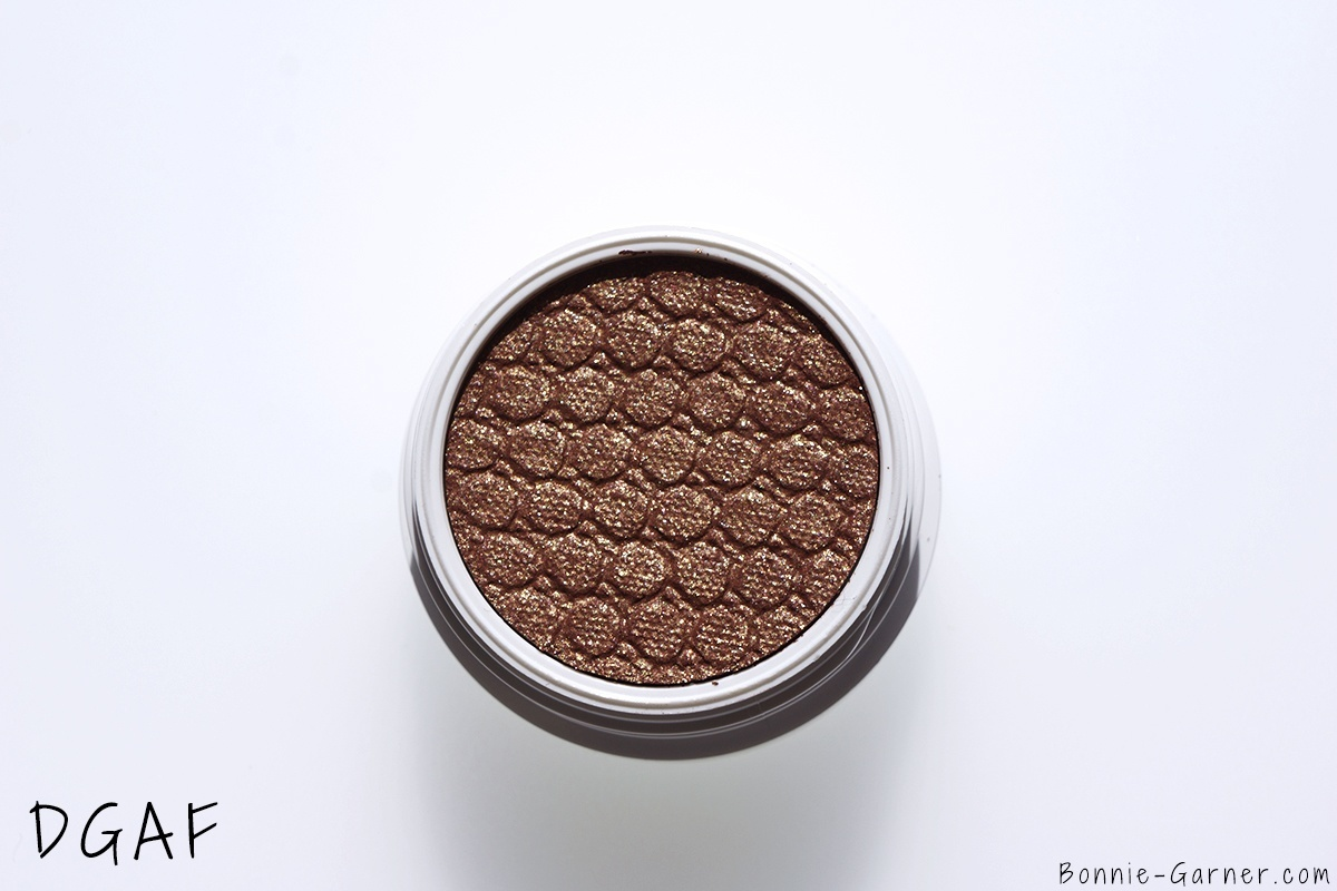 ColourPop Holiday 2015 collection Super Shock Shadows DGAF