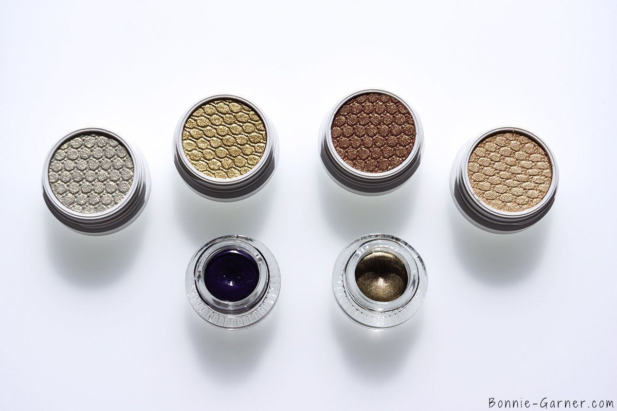 ColourPop Holiday 2015 collection Super Shock Shadows Cheap Date, Famous , DGAF, Glitterati, Creme Gel colours Ho Ho, Superstition
