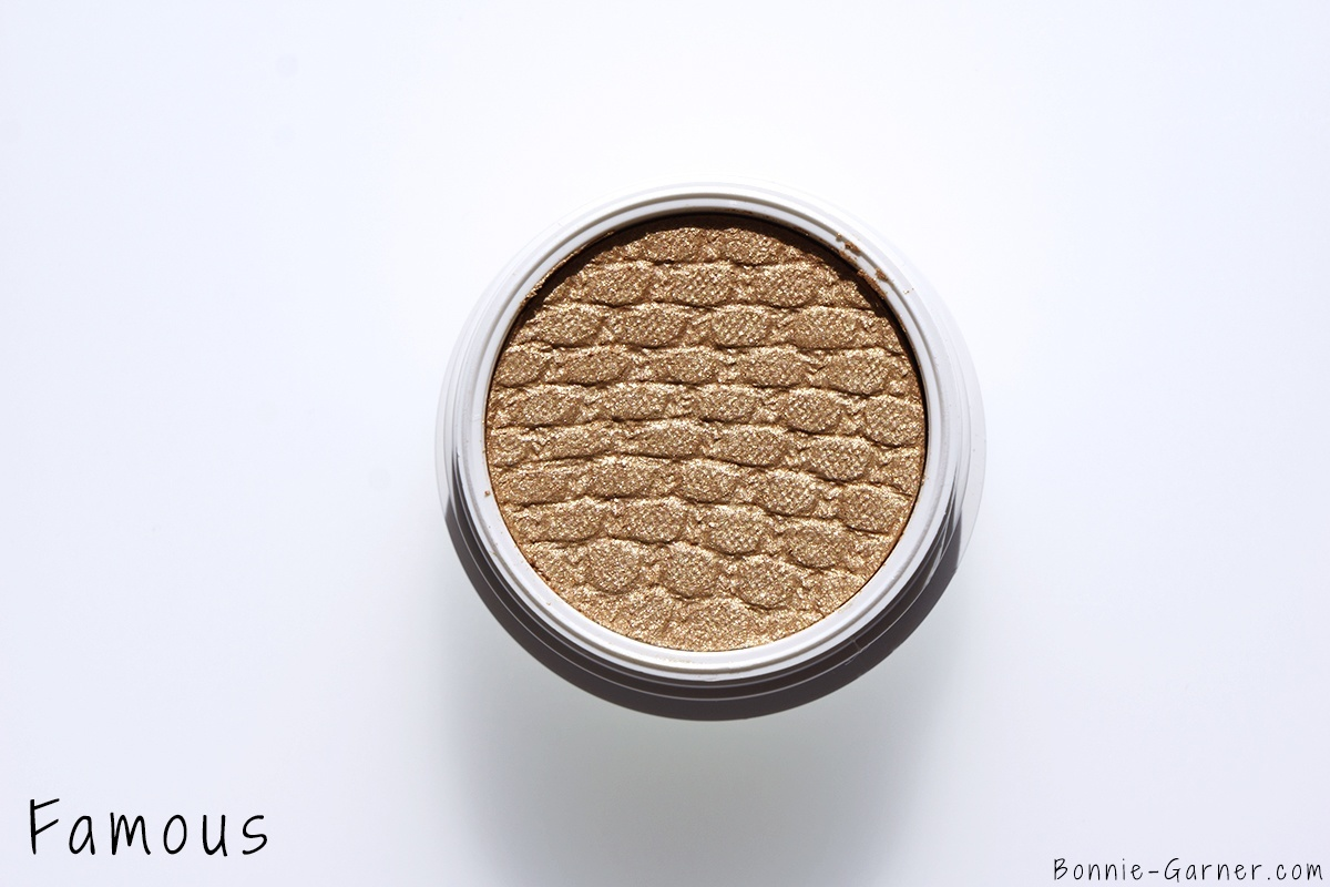 ColourPop Holiday 2015 collection Super Shock Shadows Famous