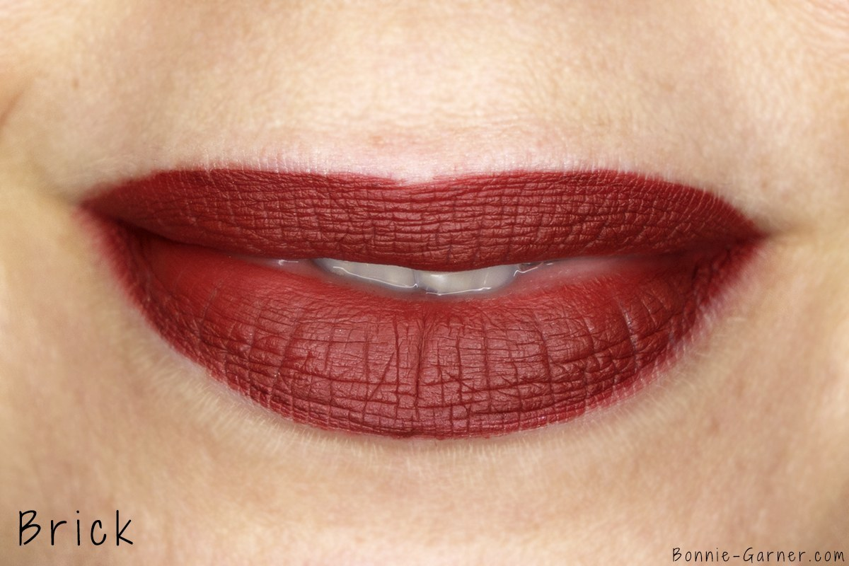 Dose Of Colors matte liquid lipstick Brick